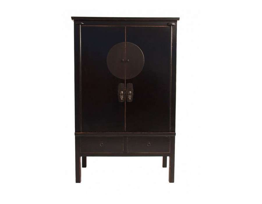Grande Armoire Chinoise Noire Vical Home