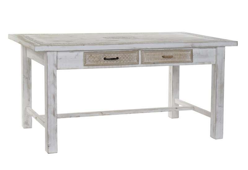 table en bois blanc