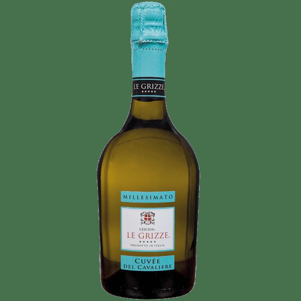 bottiglia cuveè del cavaliere
