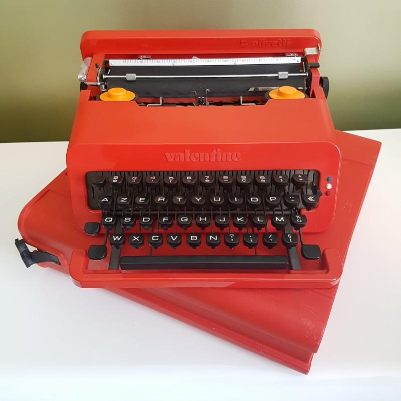 Machine Crire Olivetti Valentine Ettore Sootsass 1969