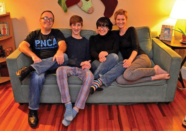 The Lensch family.