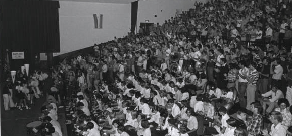 First-Year Student Rally 1974