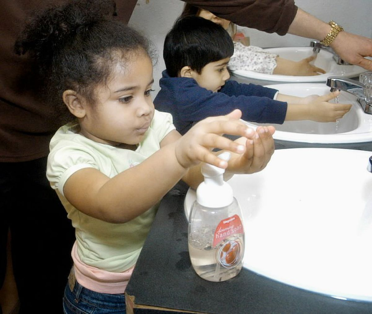 Opinion Use Vaccination Hand Washing And Healthy Habits