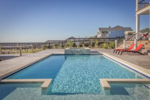 Swimming Pool Landscaping Services in Baldwin, Maryland