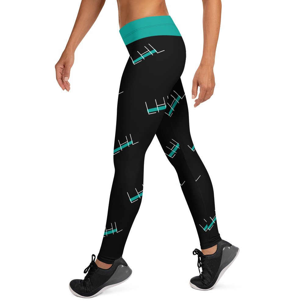 Leggings / mallas largas LHL Negras