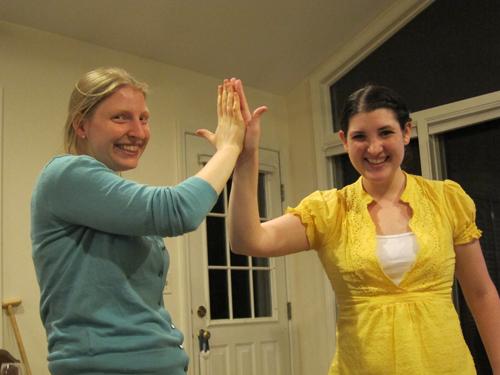 high five!