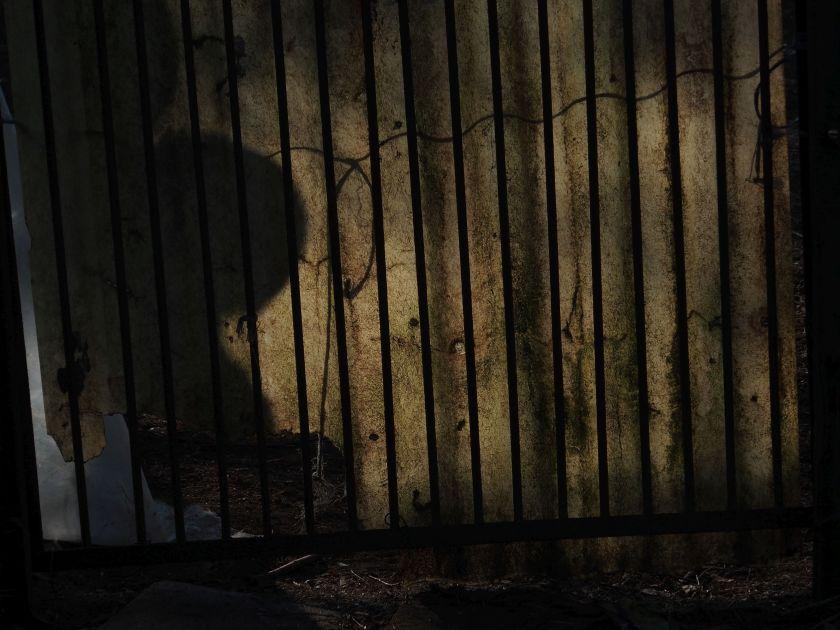 Gespenstisch Schatten