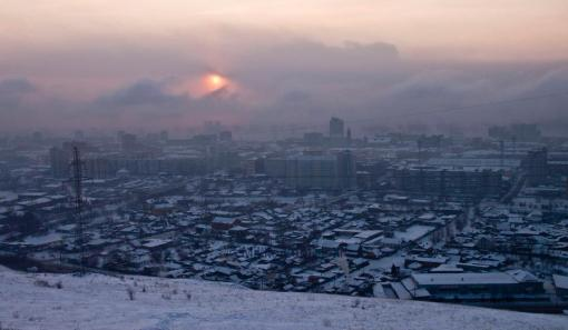 talvinen krasnoyarsk