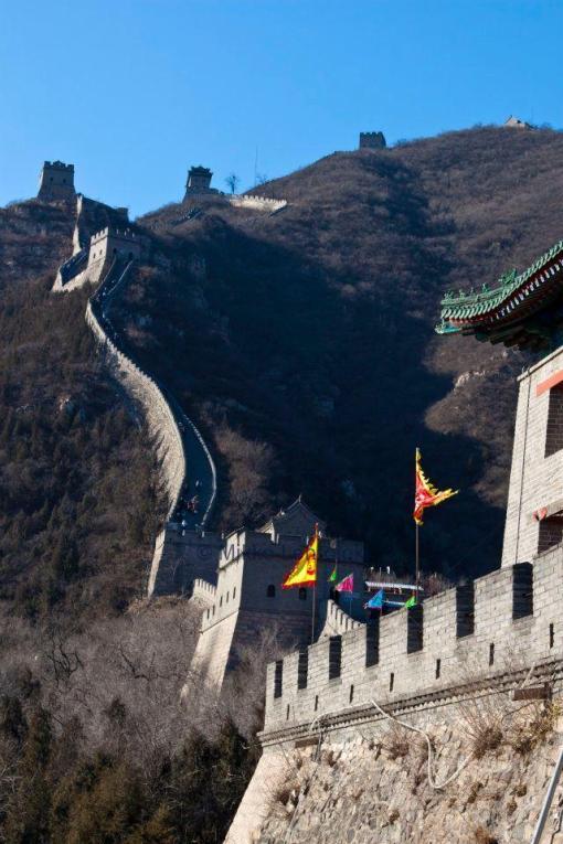 kiinan muuri yllätti