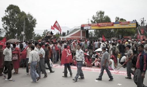 maoistit kadulla