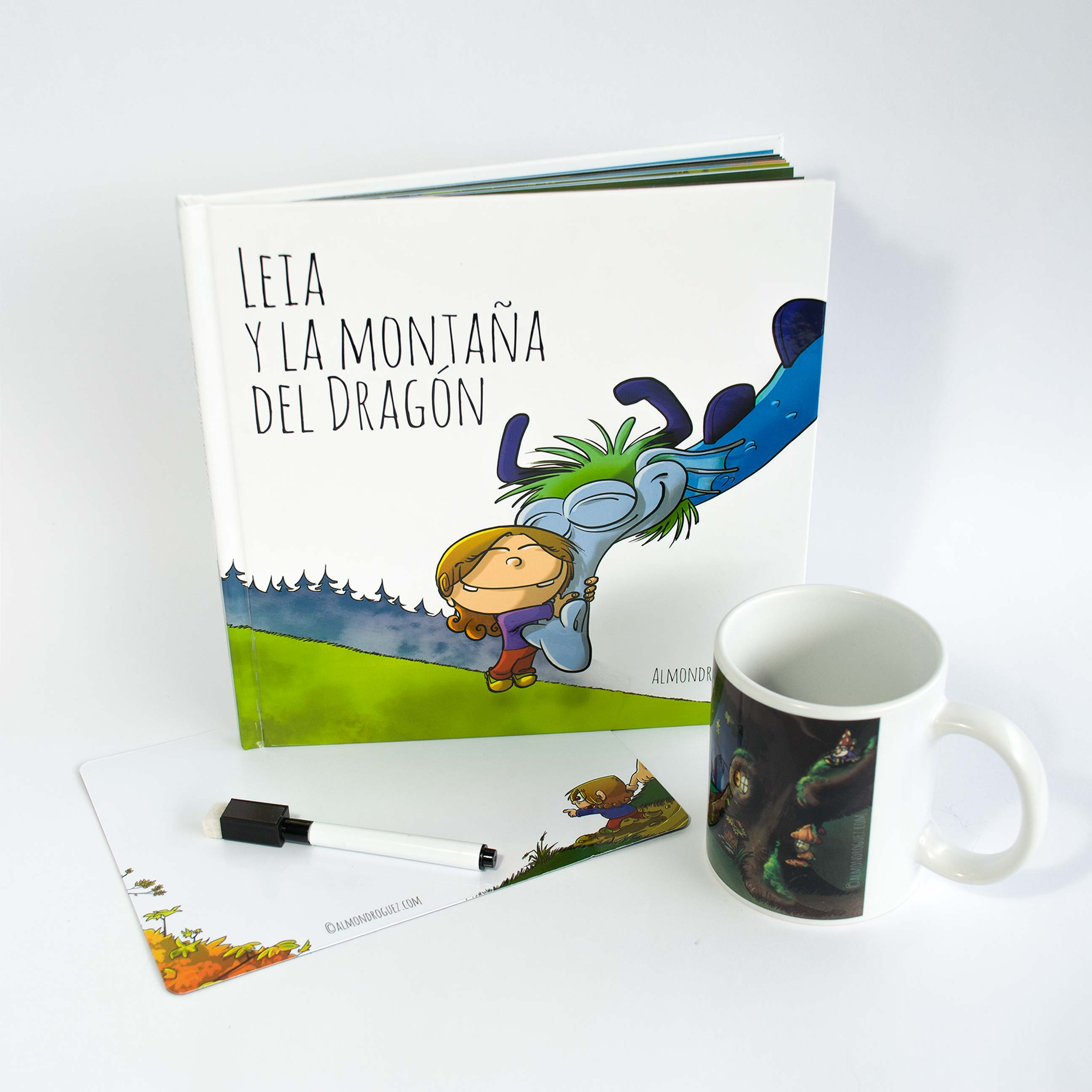 Pack «Cuento + Pizarra + Taza»
