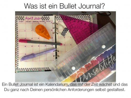 Was ist ein Bullet Journal – und wozu brauche ich das?