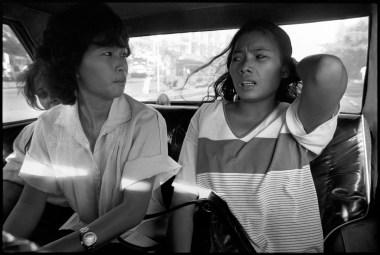 These women work at the Kangaroo Bar in Saigon