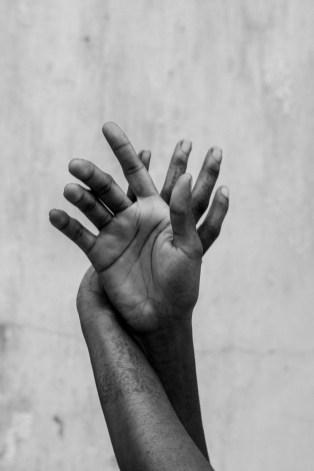 Hands with fading henna - Stone Town, Zanzibar 2019