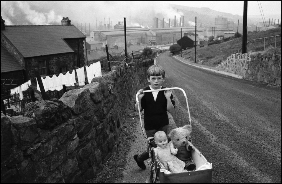 WALES. 1965. Welsh Miners.