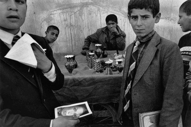 Turkey, Patnos Schoolboys in the marketplace. ©Nikos Economopoulos-Magnum