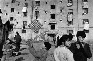 Albania, Tirana. Skanderbeg central square. ©Nikos Economopoulos-Magnum