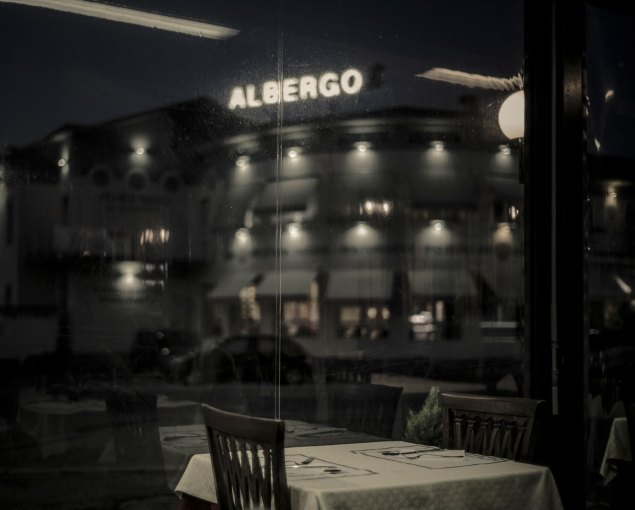 The restaurant where I met my mother after coming back, Italy
