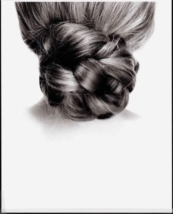 Kunstvoller Haarknoten aus der Serie Haare (2007)