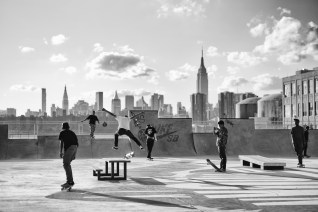 June 29th 2015: Pictures taken of Skaters along Kent Avenue in Brooklyn, New York, USA.Pictures by Phil PenmanWWW.PHILPENMAN.COMCellphone: 917 496 1644penmanphoto@gmail.com