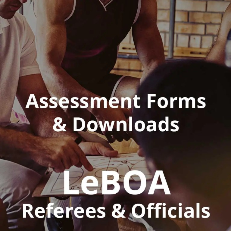 LeBOA Assessment Forms and Downloads