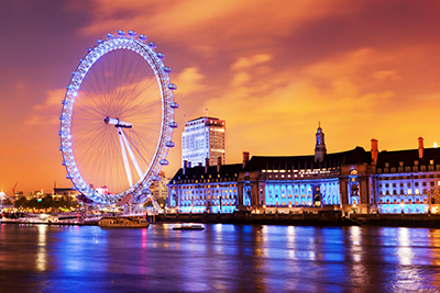 The London Eye Experience starts with a Safe Ride