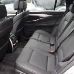 BMW 5 Series black leather interior
