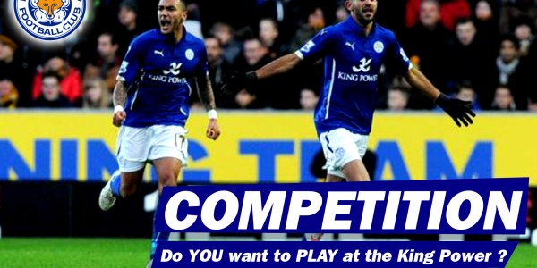 Play at the KING POWER Competition
