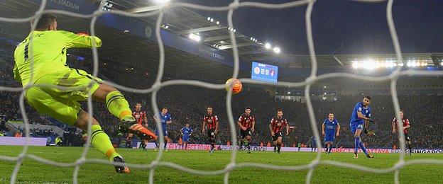 LCFC v AFCB Penalty 2