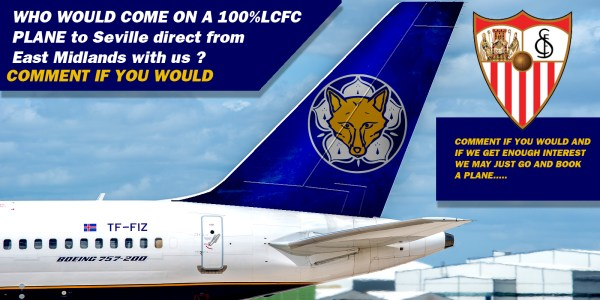 100%LCFC Day Trip To Seville ?