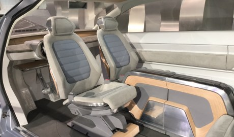 Smartes VW-Future Interior Concept