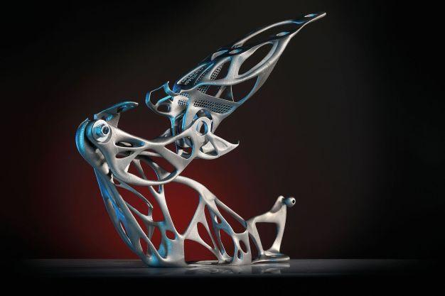 German Innovation Award: Haubenscharnier Lighthinge+ (Quelle: EDAG)
