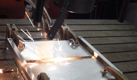 Remote-Laserstrahlschweißen von Stahl-Aluminium-Mischverbindungen.