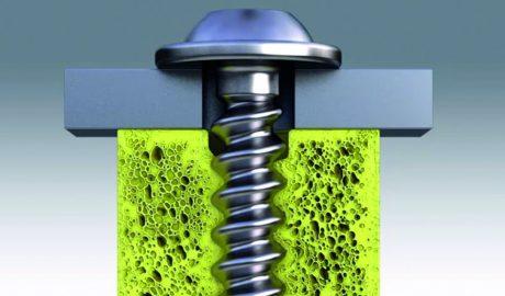 Materialschonendes Gewindeprägen durch elastische Umformung im Tubus