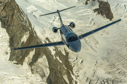 Der Super Versatile Jet PC-24 von Pilatus soll als Geschäftsflugzeug, für Rettungsflüge oder Transporte eingesetzt werden. (Quelle: Pilatus)