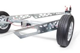 Die Wabenstruktur des Chassis sorgt für maximale Gewichts- und Materialersparnis. (Quelle: Al-Ko)