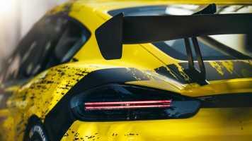 Beim Cayman GT4 Clubsport nutzt Porsche Naturfaser-Verbundwerkstoffe (Quelle: Porsche)