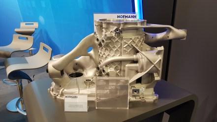 Integrationsgehäuse für elektrischen Achsantrieb - Gewichtsreduktion etwa 4 kg (Quelle: Leichtbauwelt | ck)