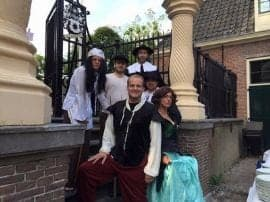 moorddiner in Leiden