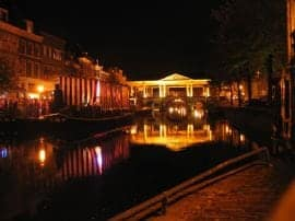Leiden by night