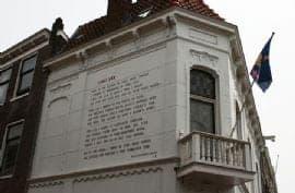 Literaire wandeling in Leiden