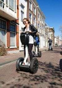 Met een Segway door Leiden