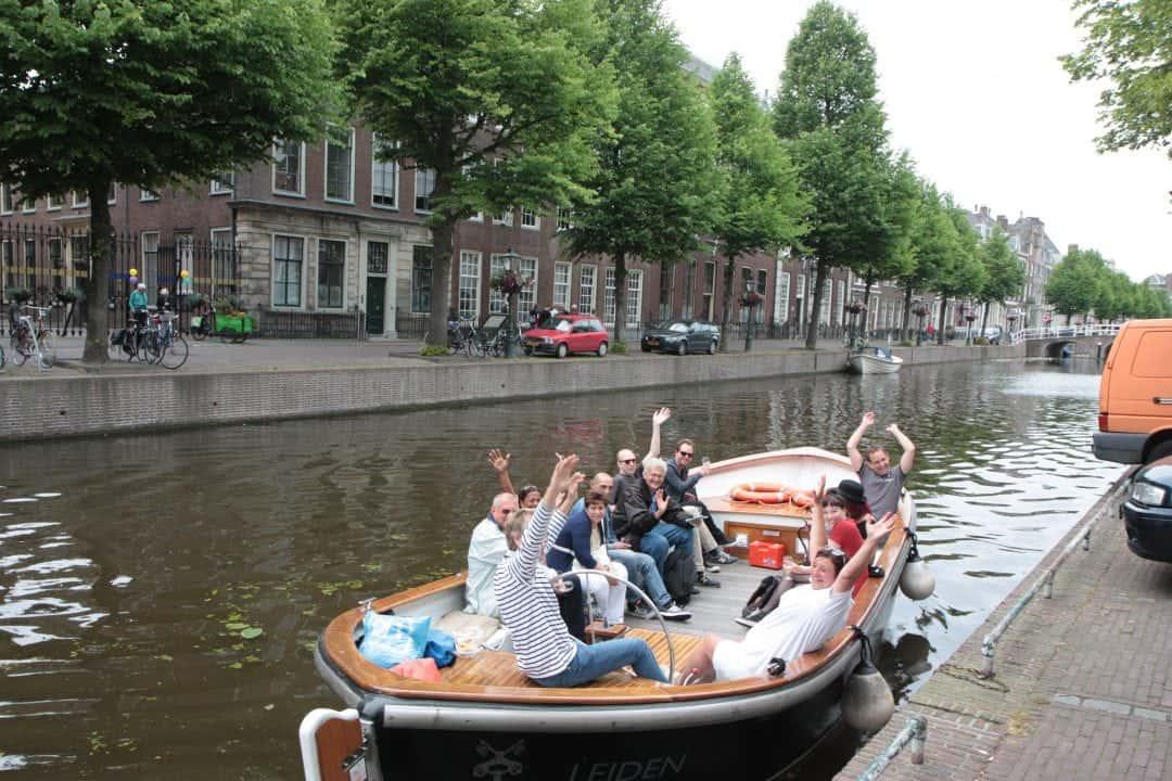 Boat tour Leiden