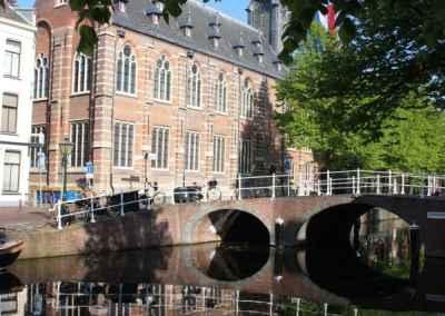 Medische wandeling in Leiden