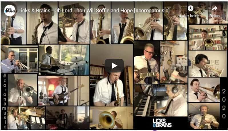 Rolf Delfos en Licks & Brains