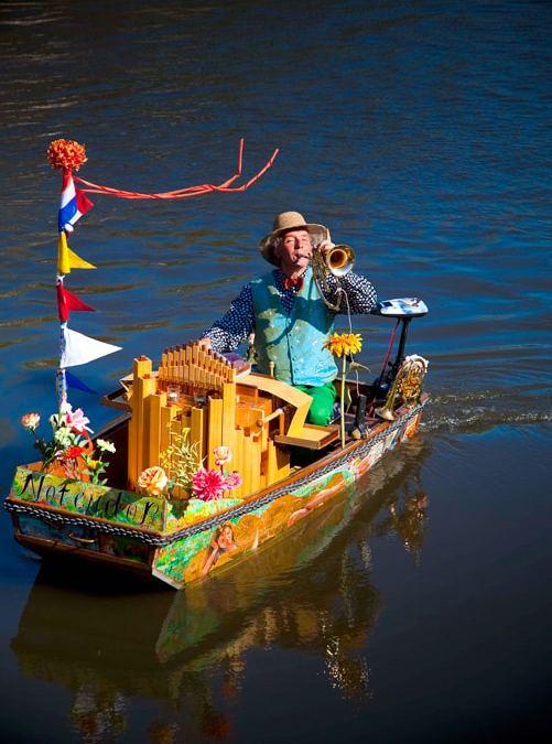 Renier – Music Boat tijdens Corona crisis