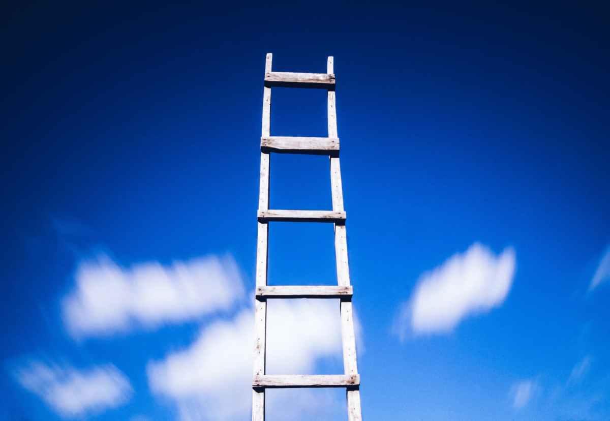 Hoe je gedragsverandering gemakkelijk maakt – gebruik de ladder