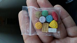 po narkotikų pasaulį