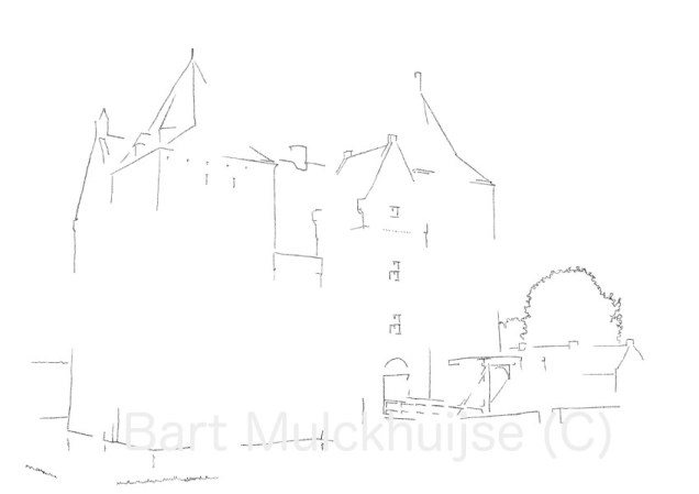 slot-loevestein-tekening