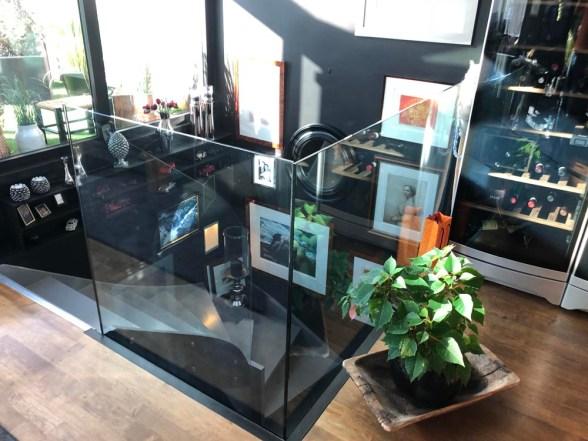 glassdesign-rekkverk inne